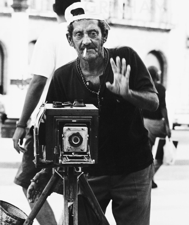 Street Photographer, Havana, Cuba, 1999