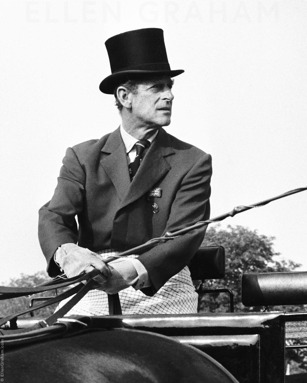 Prince Philip, Duke of Edinburgh, Budapest, Hungary, 1984