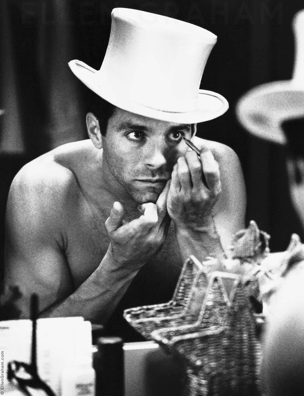 "David Elder, ""42nd Street"" Dressing Room, New York, NY, 2002"