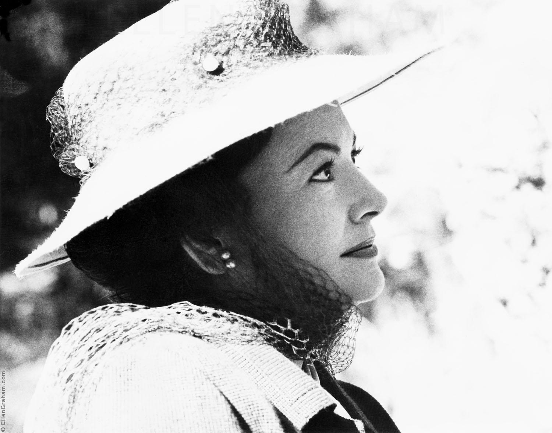 Olivia de Havilland, Beverly Hills, CA, 1971
