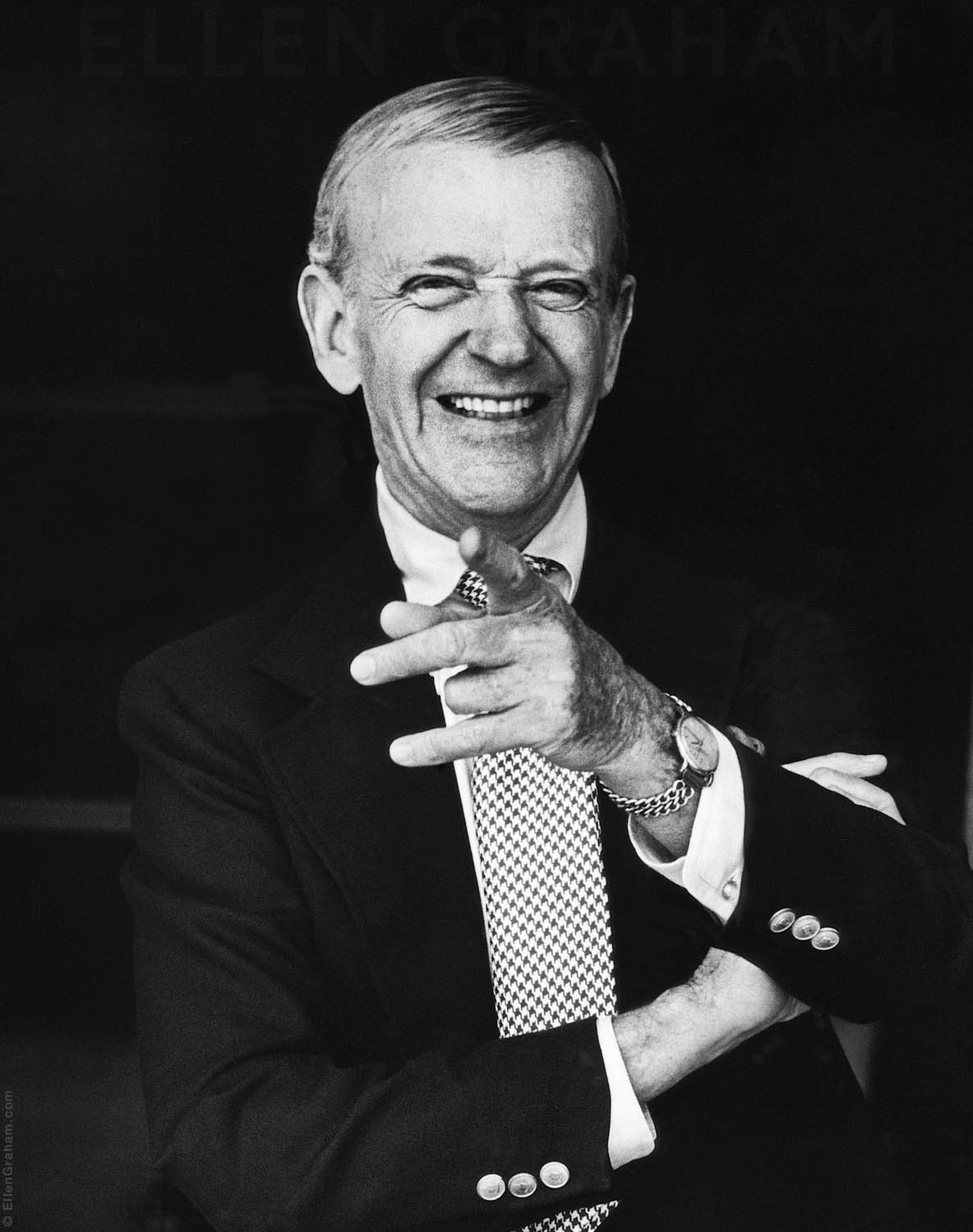 Fred Astaire, Beverly Hills, CA, 1966