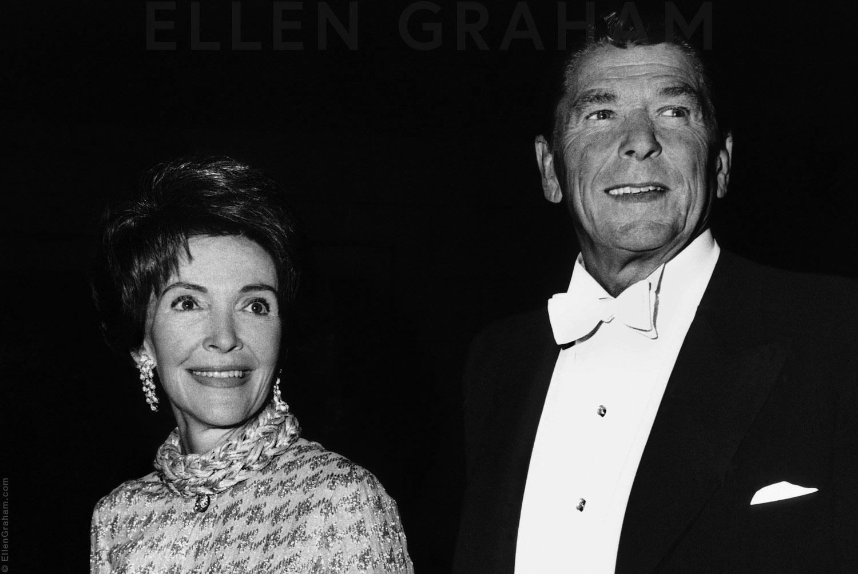 Ronald Reagan and Nancy Reagan, San Francisco, CA, 1974