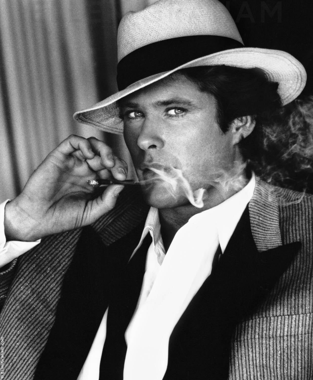 David Hasselhoff, Beverly Hills, CA, 1983