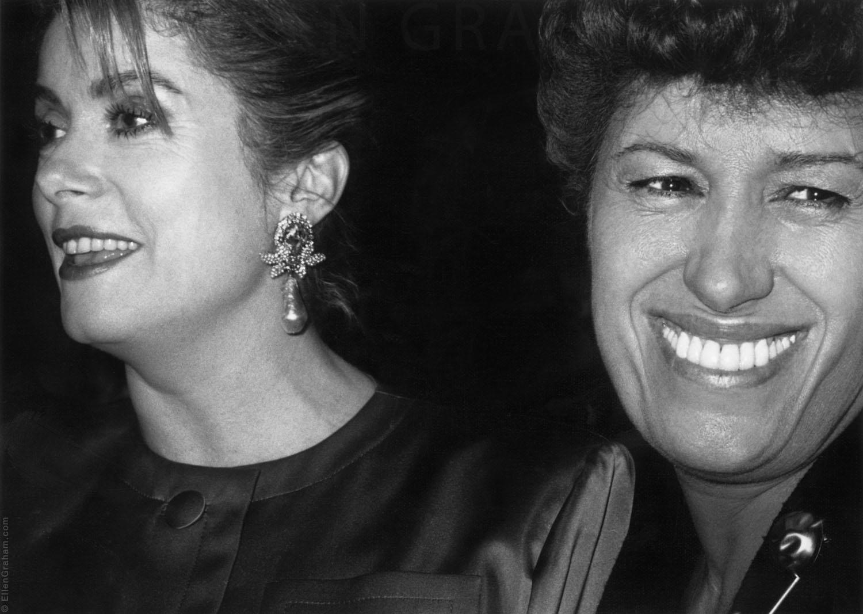 Catherine Deneuv, Carla Fendi, New York, NY, 1996