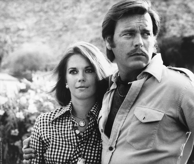 Natalie Wood, Robert Wagner, Palm Springs, CA, 1973