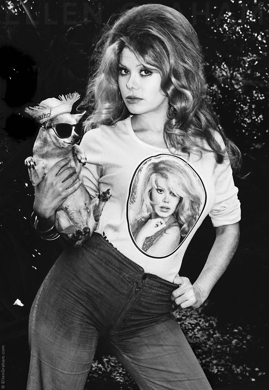Charo, Hollywood, CA, 1976