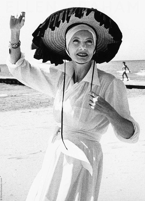 Valentina Schlee, Venice, Lido, Italy, 1959