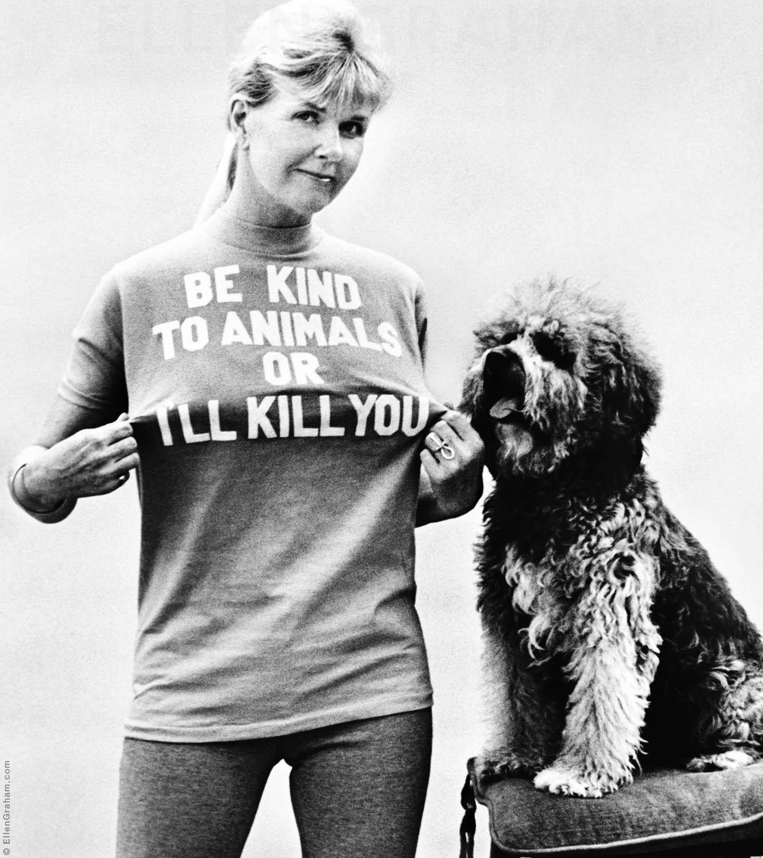 Doris Day, Beverly Hills, CA, 1975