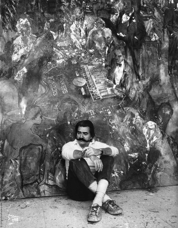 Leroy Neiman, New York, NY, 1987