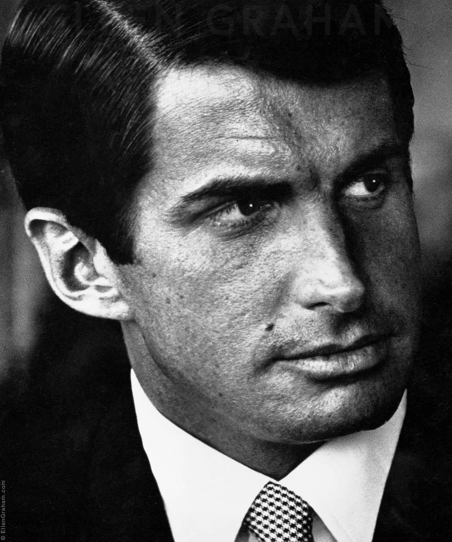 George Hamilton, Beverly Hills, CA, 1967