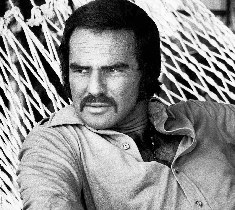 Burt Reynolds, Los Angeles, CA, 1973