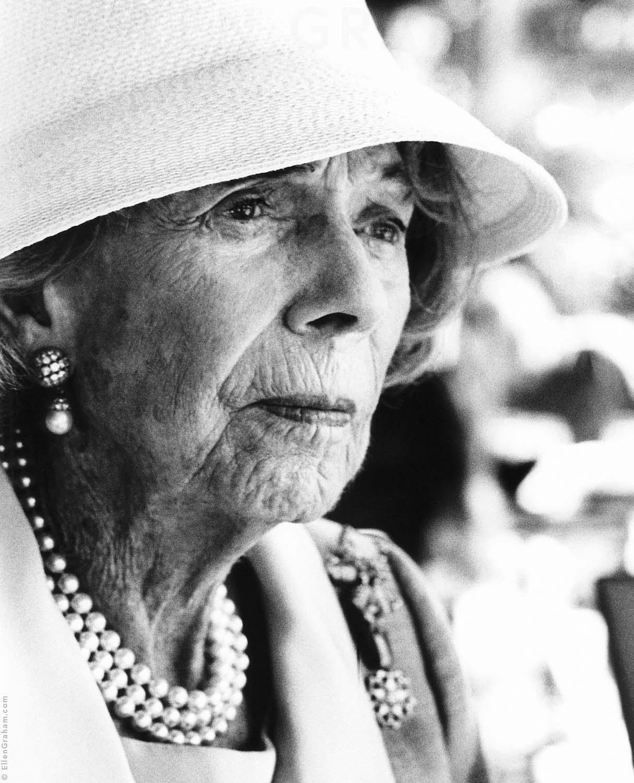 Brooke Astor, Palm Beach, FL, 2000