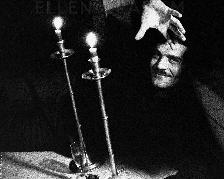 Omar Sharif, Malibu, CA, 1967