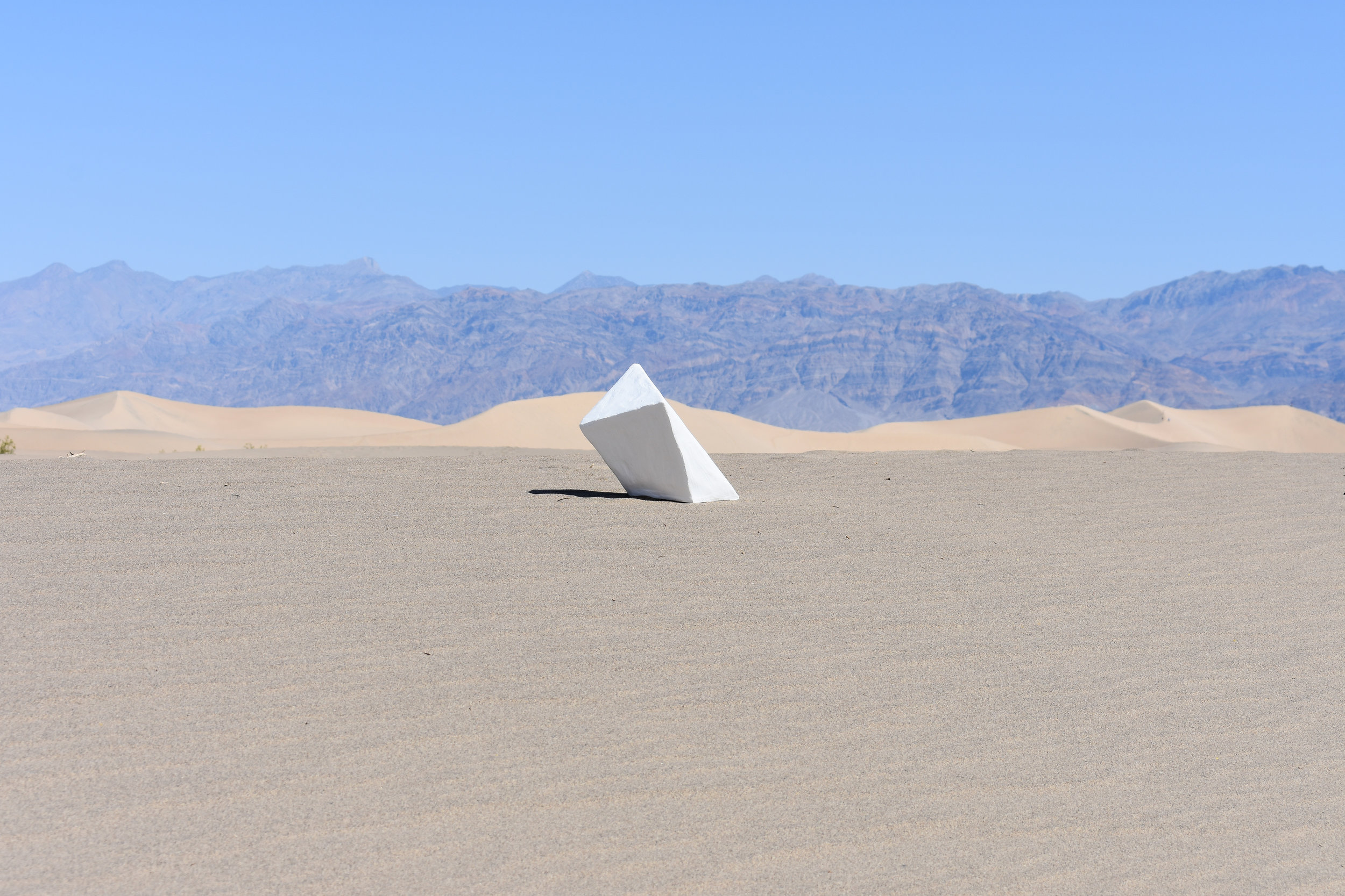 Installation / Series: Man In Time /  Install #001 - Death Valley