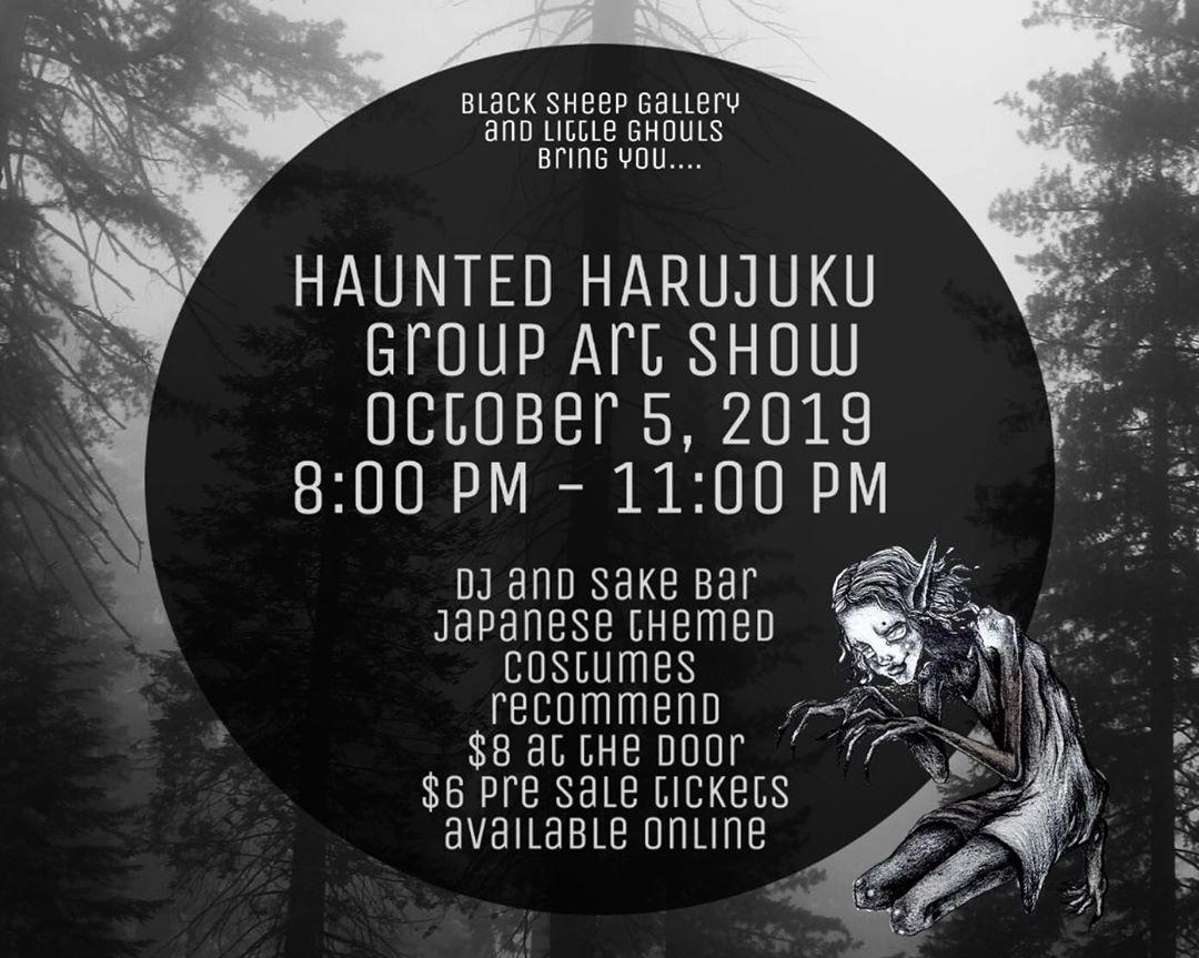 HAUNTED HARAJUKU - October 05.2019
