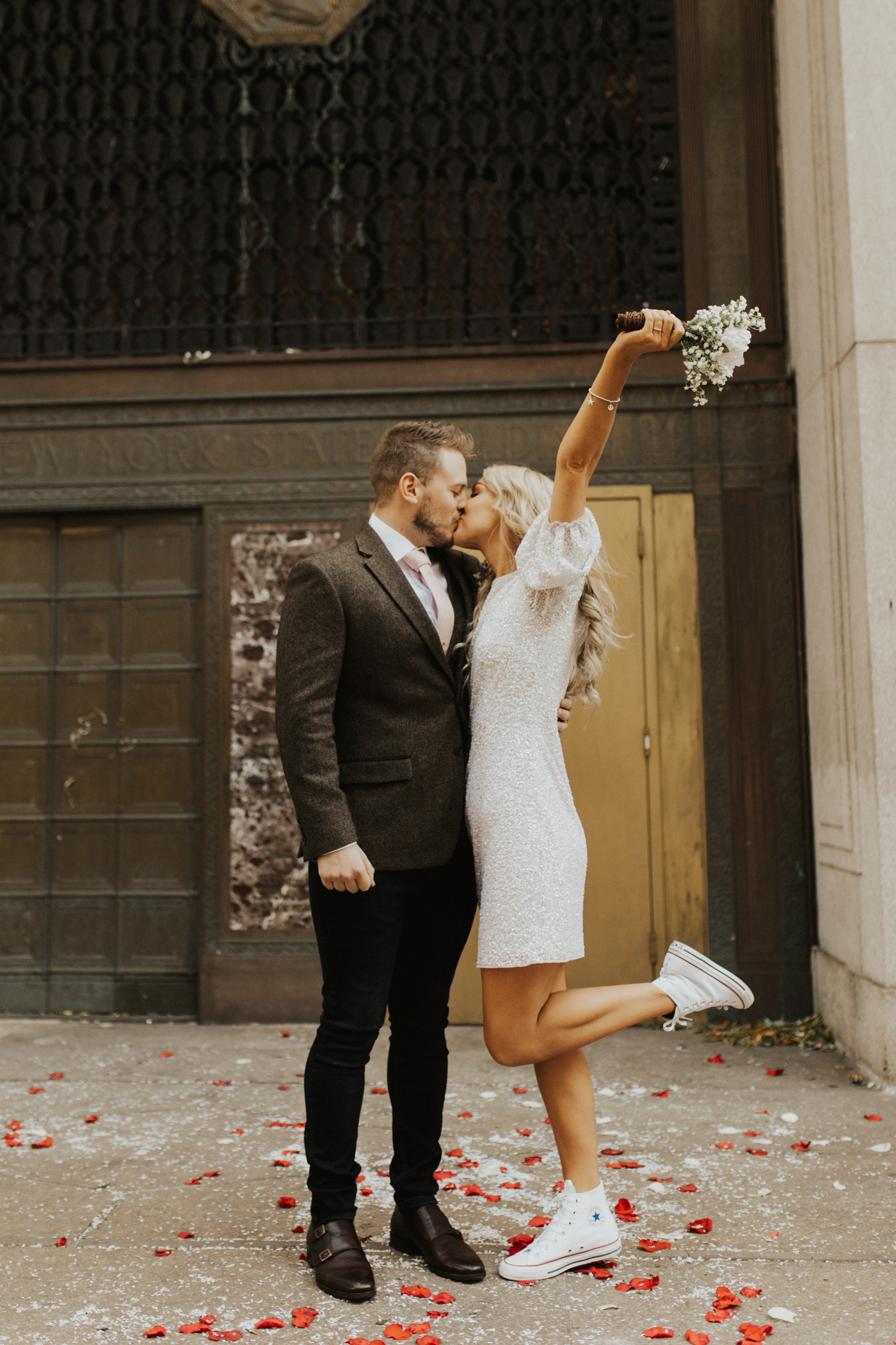 Holly and Dan Bliss Brooklyn New York Elopement