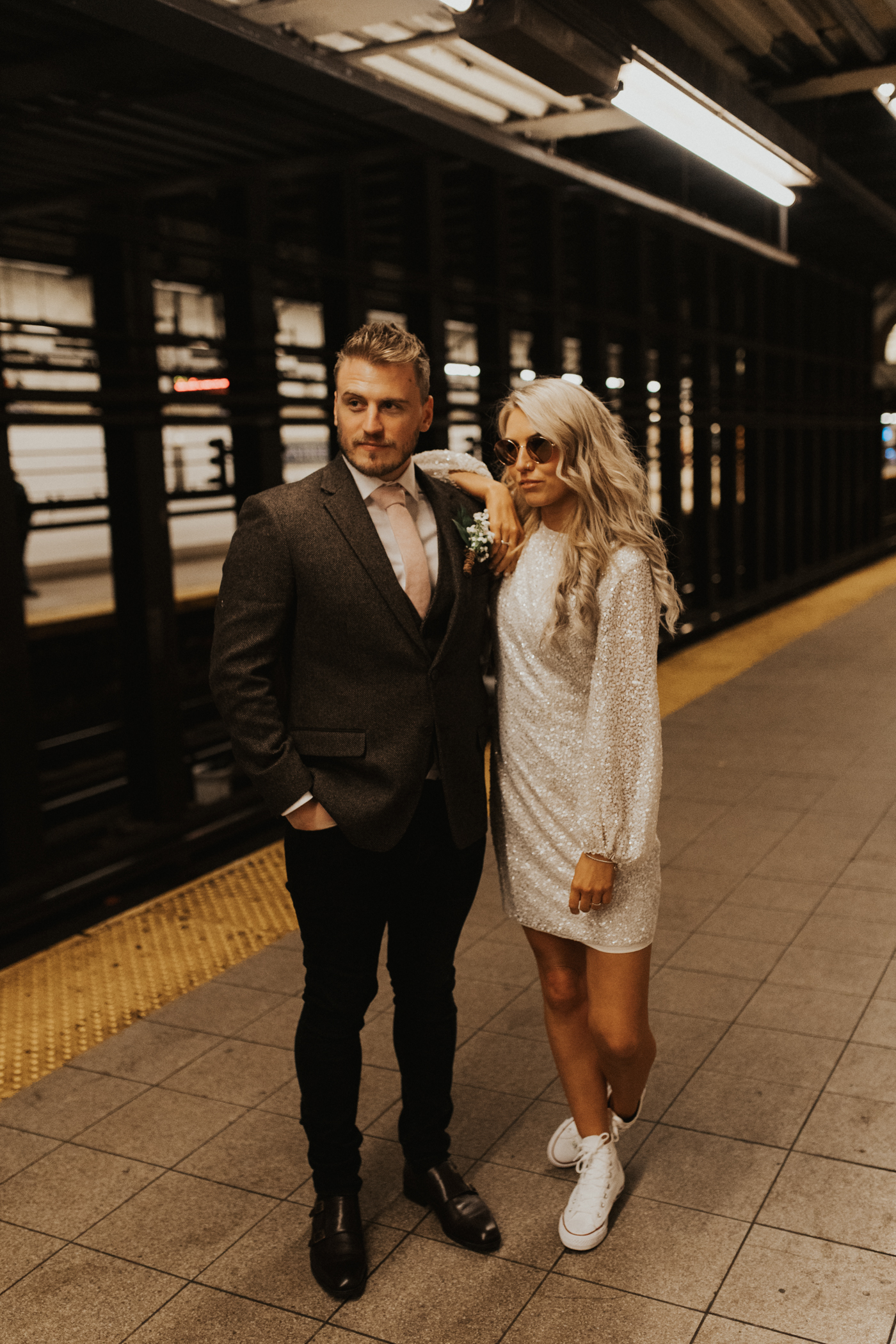 Holly and Dan New York city elopement