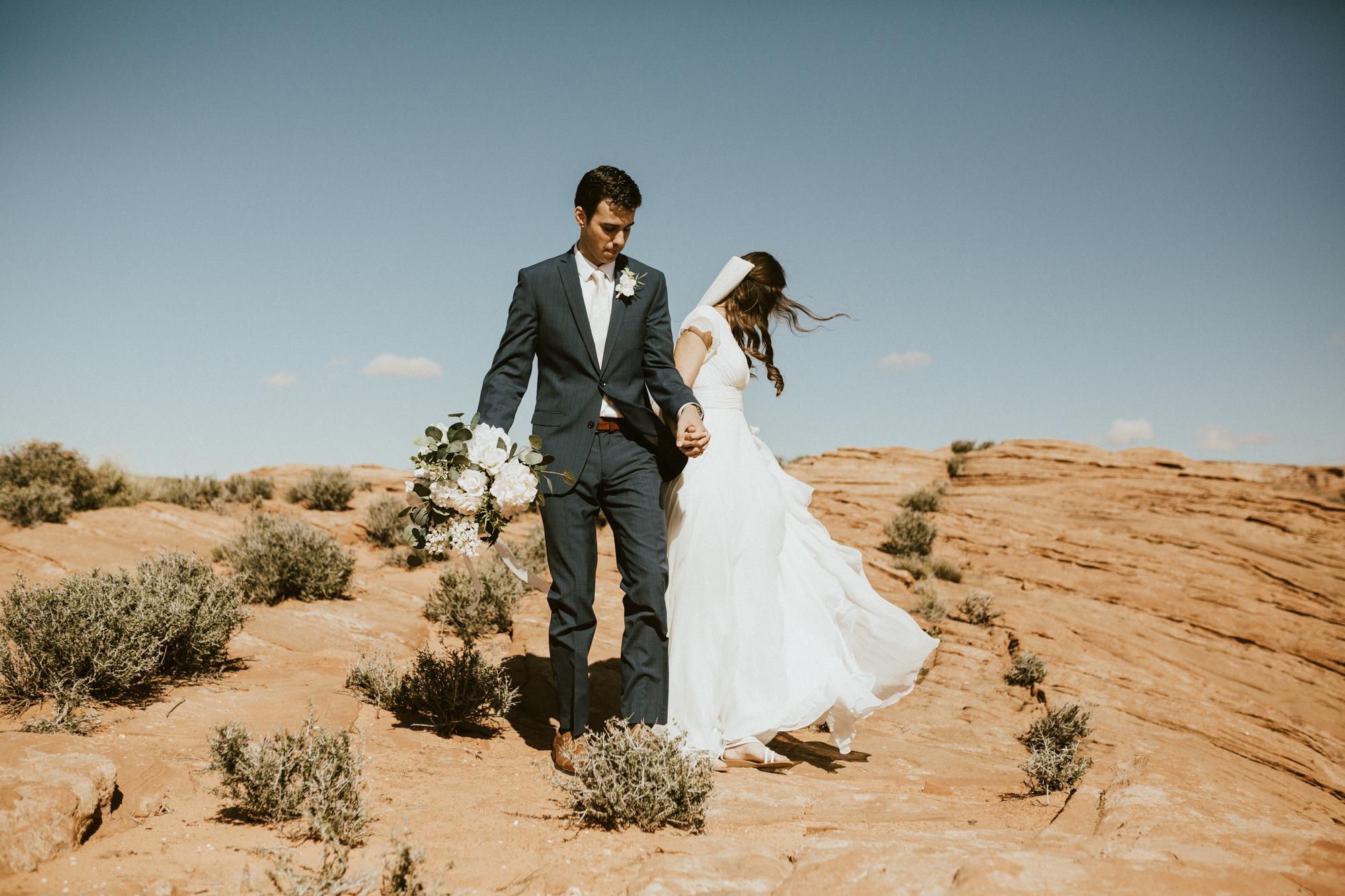 horseshoe bend bridal sessions