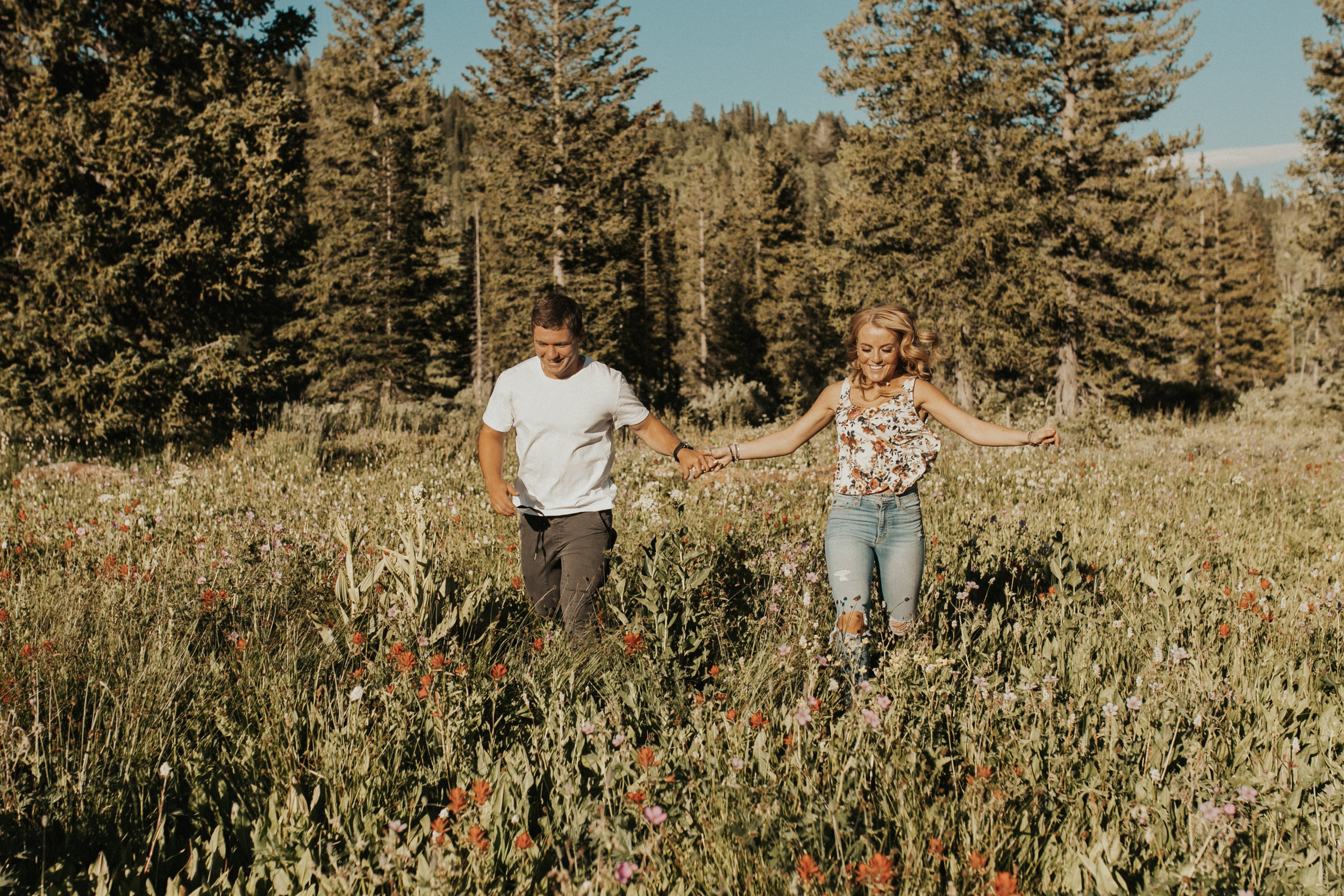 mountain engagement session