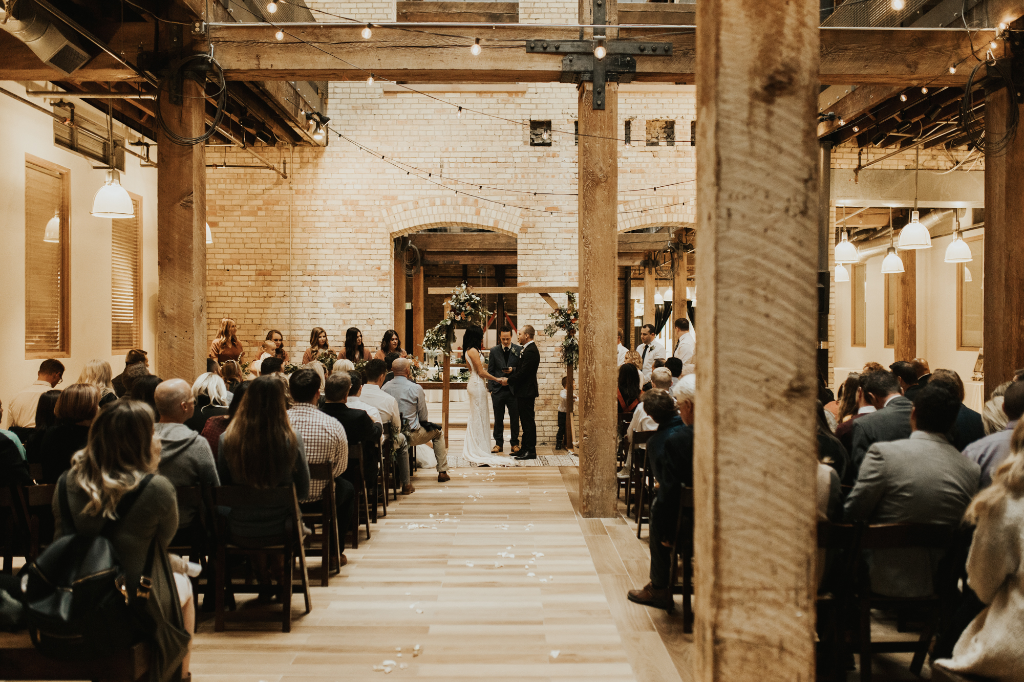 salt lake city industrial wedding