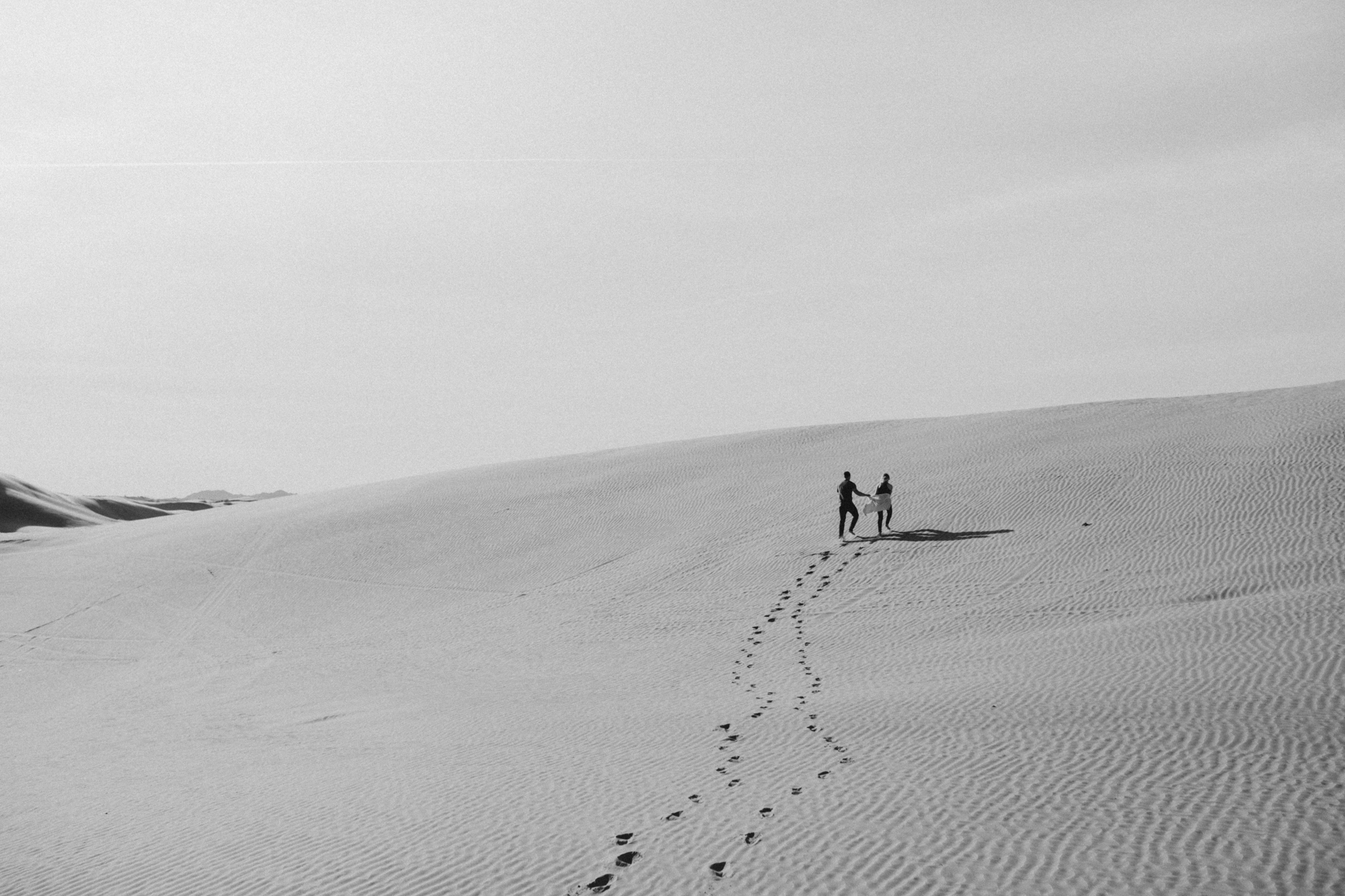 great sand dune national park engagement photoshooot