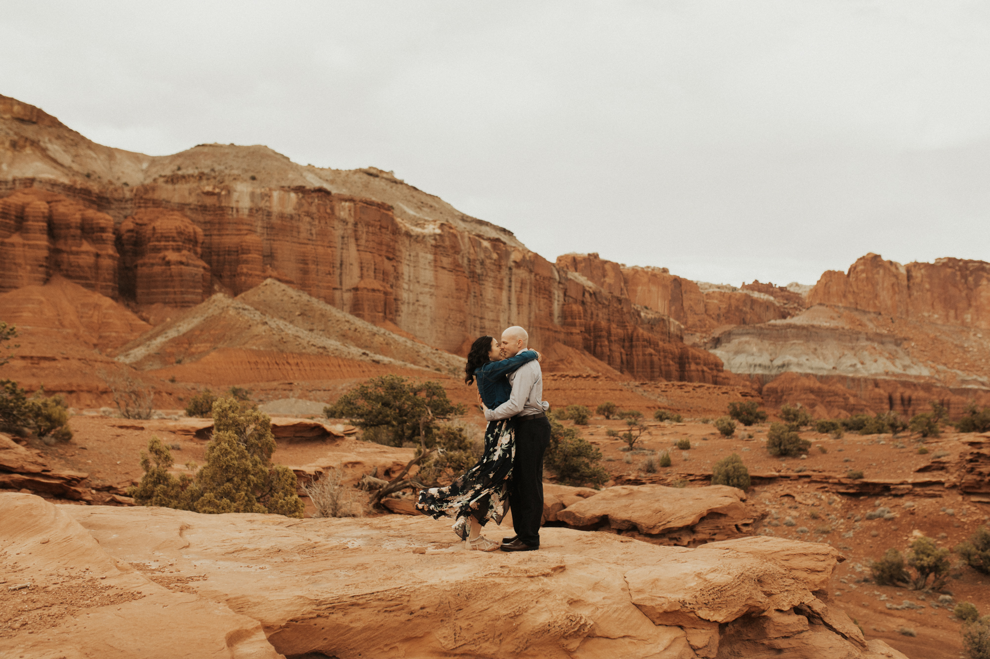 Capitol Reef National Park Engagement Photos