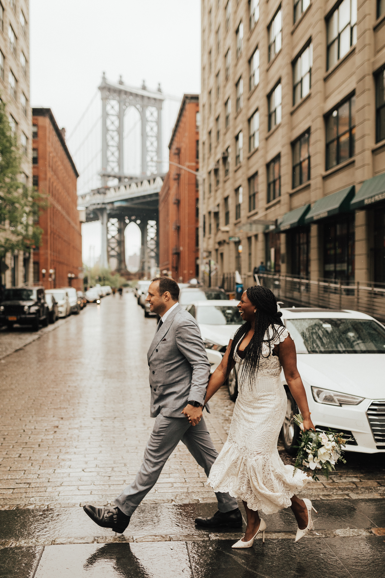 DUMBO Brooklyn NYC Elopement Wedding