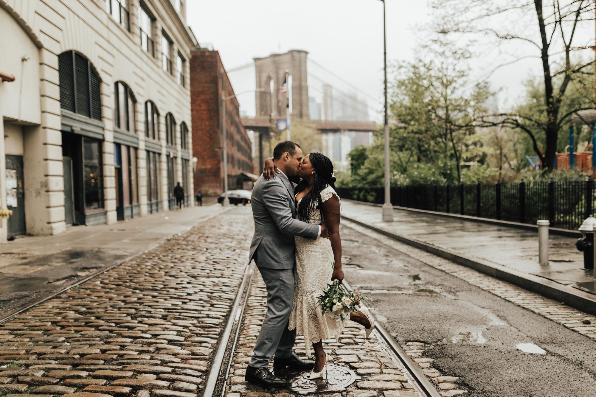 New York City Elopement Photos