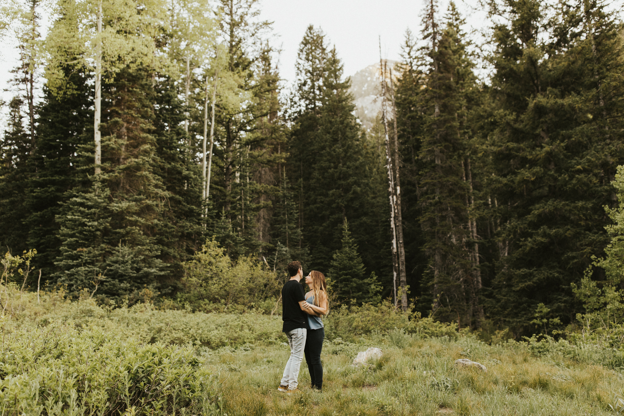 Rocky Mountain National Park Engagement Photographer