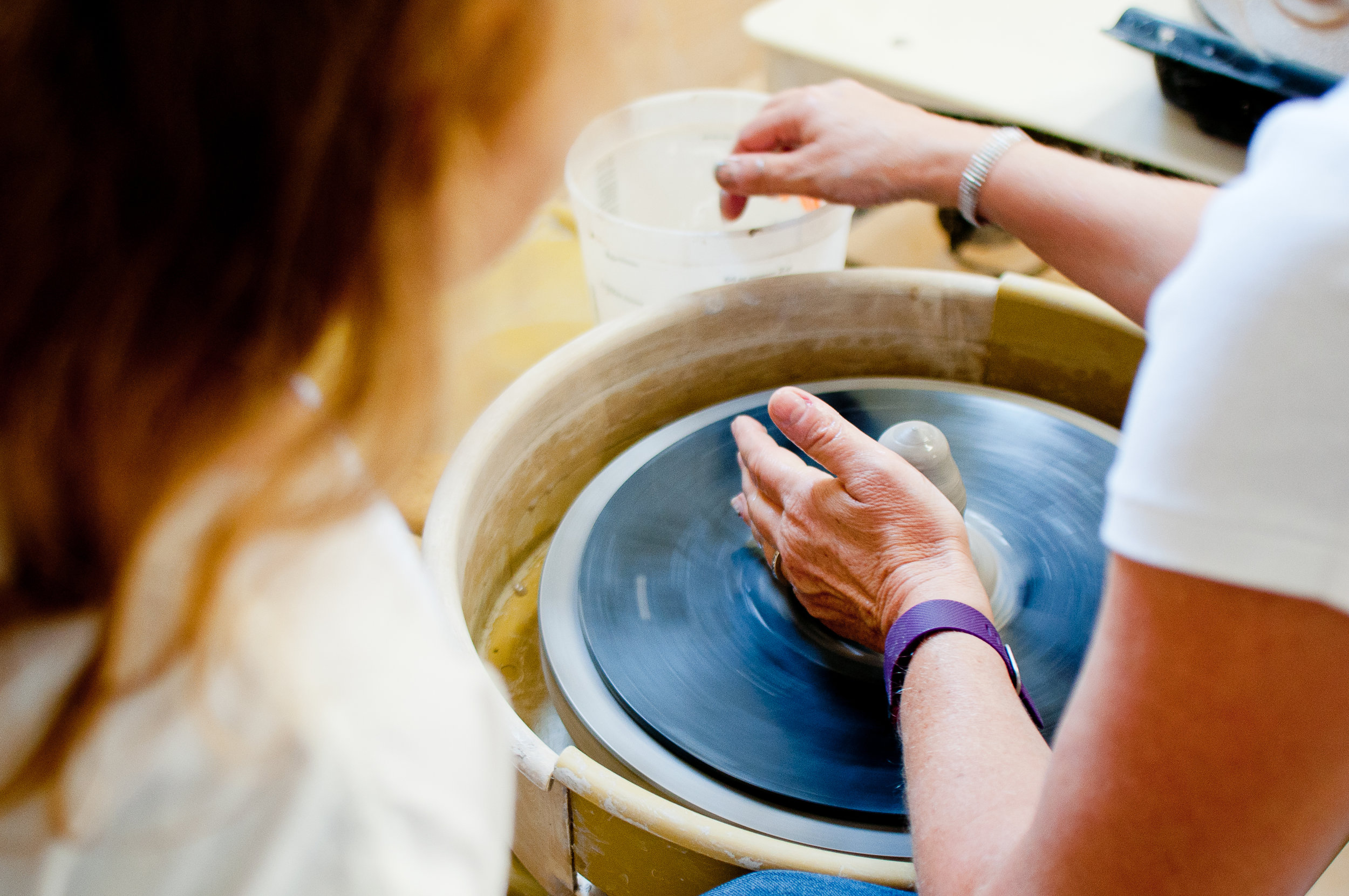 Wheel Throwing 2 & Beyond - Tuesday, 1 - 4 pm or 7- 10pm4 ClassesInstructor: David MoynihanLevel: some clay experience requiredAge: AdultBe guided through developing your personal approach to centering, opening, widening, stretching and shaping clay on the potters wheel to form a variety of larger and more complex vessels.
