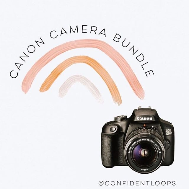 Want a Canon Camera Bundle? Complete with a Canon DSLR Camera, Lens Kit & Accessory Bundle. In an effort to show appreciation to all our followers, I've teamed up with an incredible group of women to bring you a chance to WIN your own CANON CAMERA BUNDLE (or PayPal option). Only 3 easy steps to ENTER: ⋒ 1. Like this post ❤️ ⋒ 2. Follow @confidentloops and EVERYONE they are following. ⋒ 3. Tag 3 friends in the comments. ⋒BONUS: share in your stories and tag @confidentloops  That's it! Super simple!  Giveaway closes Friday May 24 at 11:59pm CST. Winner MUST be following all accounts to win. This giveaway is in no way sponsored or associated with Instagram. By entering, participant confirms they are 18 years or older, releases Instagram and all brands of responsibility and agrees to Instagram's terms of use. Void where prohibited by law & no purchase necessary. Good luck! ⋒