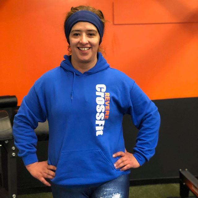 Rocio is ready for the weekend! @RevereCrossFit #revere #crossfit #Fitfam #reverecrossfit #fitness