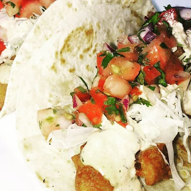 Fish Tacos Today Grilled or Fried with Beer Batter.  10 to 3pm. Always FRESH!!
