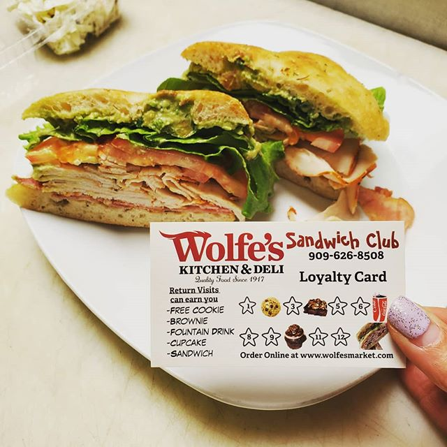 Do you have a sandwich club card yet?? Come get one!! Everytime you get a grill or deli sandwich you get a punch! On your second sandwich you get a FREE cookie!  Free brownie, soda fountain, cupcake and sandwich also up for grabs!! WHY?? Because we LOVE our customers!!