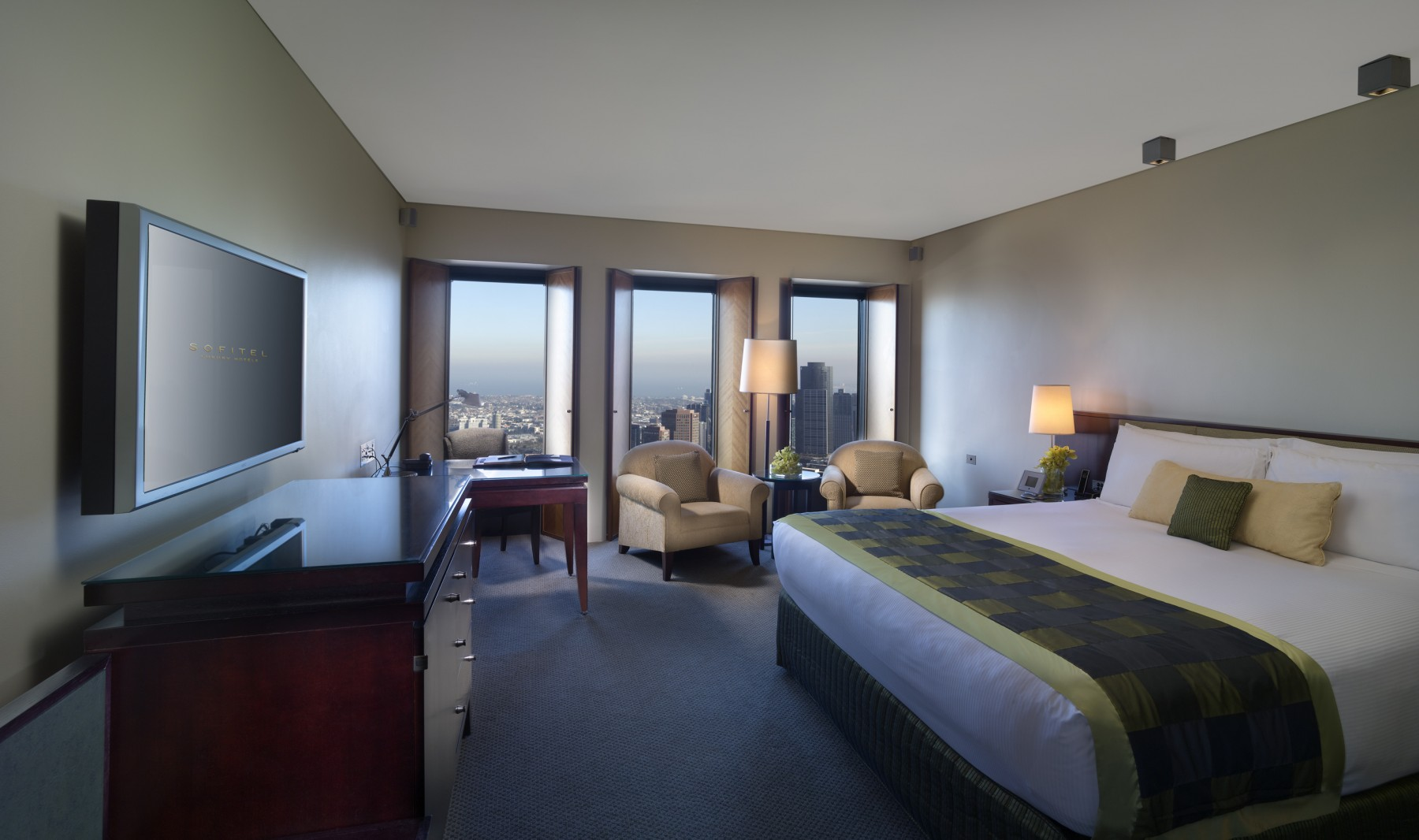 Classic King Room - Room Only - $280 per nightRoom & Breakfast for 1 - $315 per nightRoom & Breakfast for 2 - $350 per night