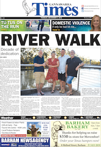 Click the image to read Gannawarra Times article.