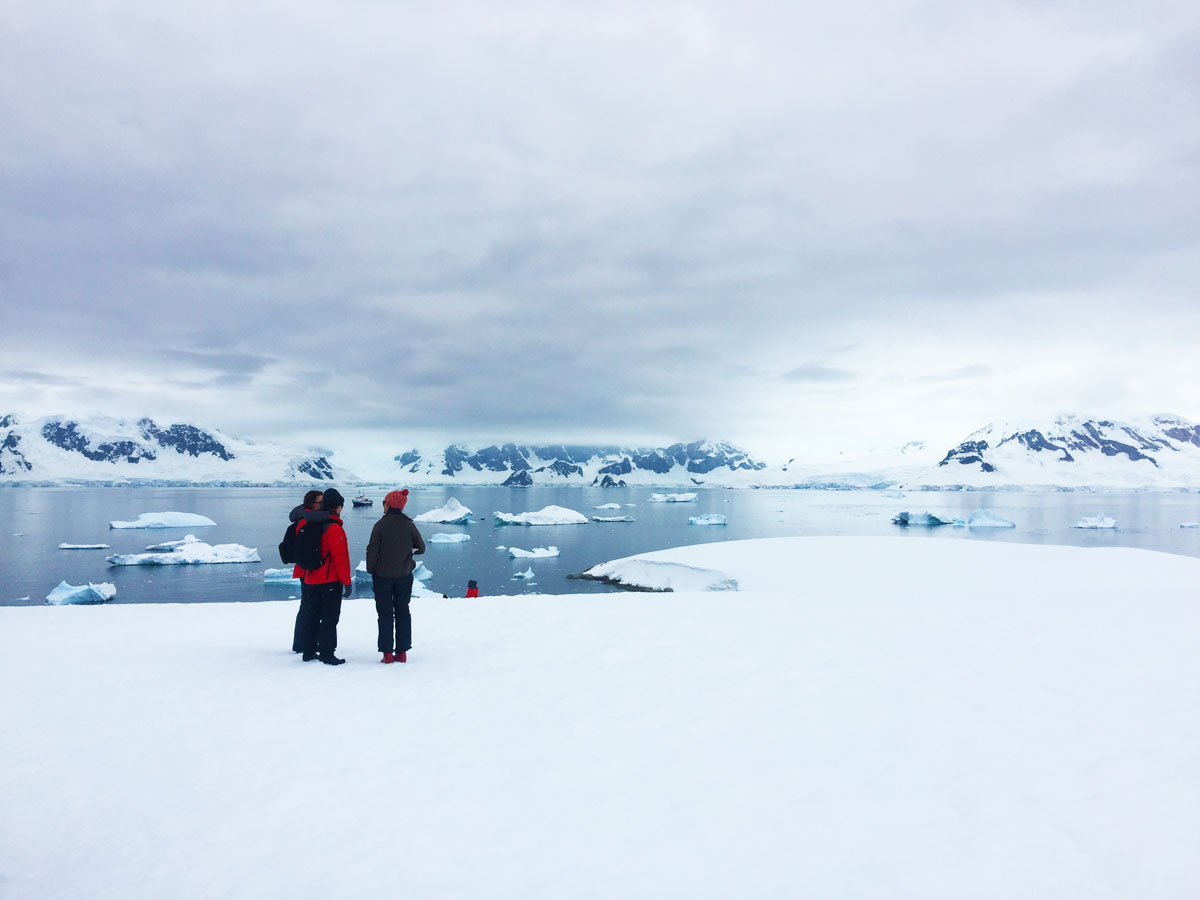 The Homeward Bound leadership program in Antarctica in 2016.