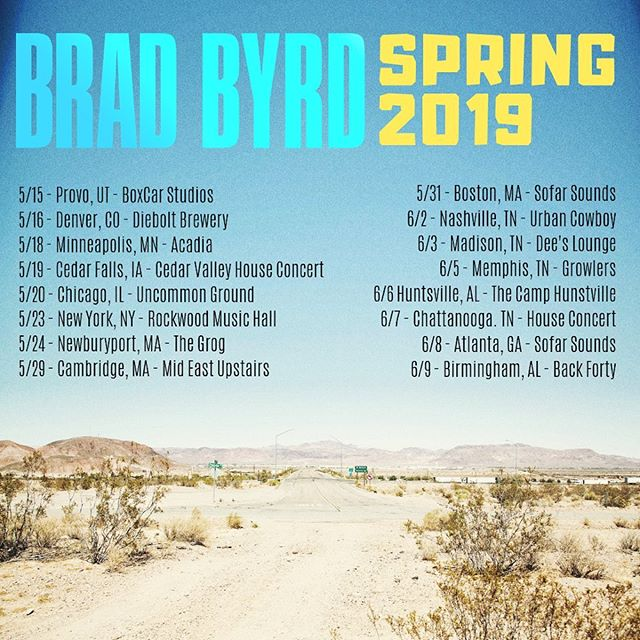 'Phases' U.S. Tour dates are here ... looking forward to seeing you out on the road... check out my website and Facebook page for updates on shows and locations - #linkinbio 🤙 • • • • #phases #tourdates #spring2019 #newmusic #newalbum #livemusic #indie #rock #americanlife #thatgreatfeeling #keepmakingart #bradbyrd #ontour #tour #music #musiclovers #alwayslove