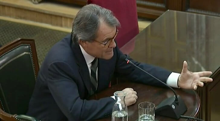Artur Mas testifying in the Supreme Court on 27 February 2019. Artur-Mas-728x400.jpg