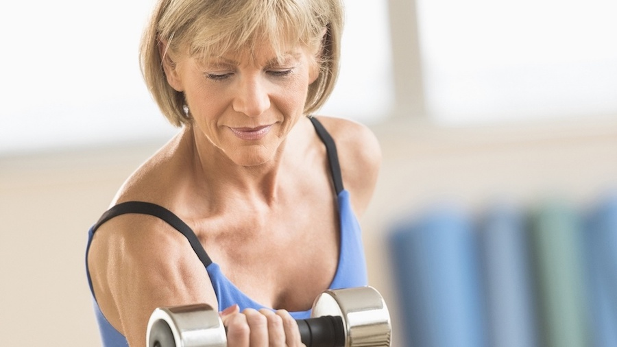 over 50 year old women lifting weights - women of the New Generation