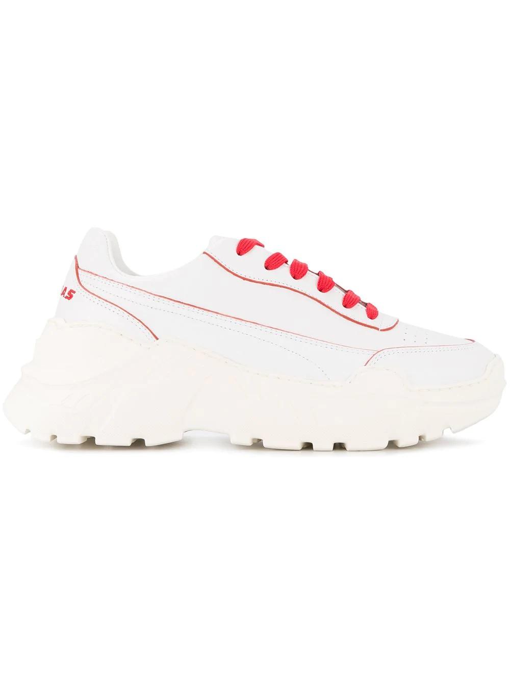 JOSHUA SANDERSS  老爹時尚球鞋(紅線)
