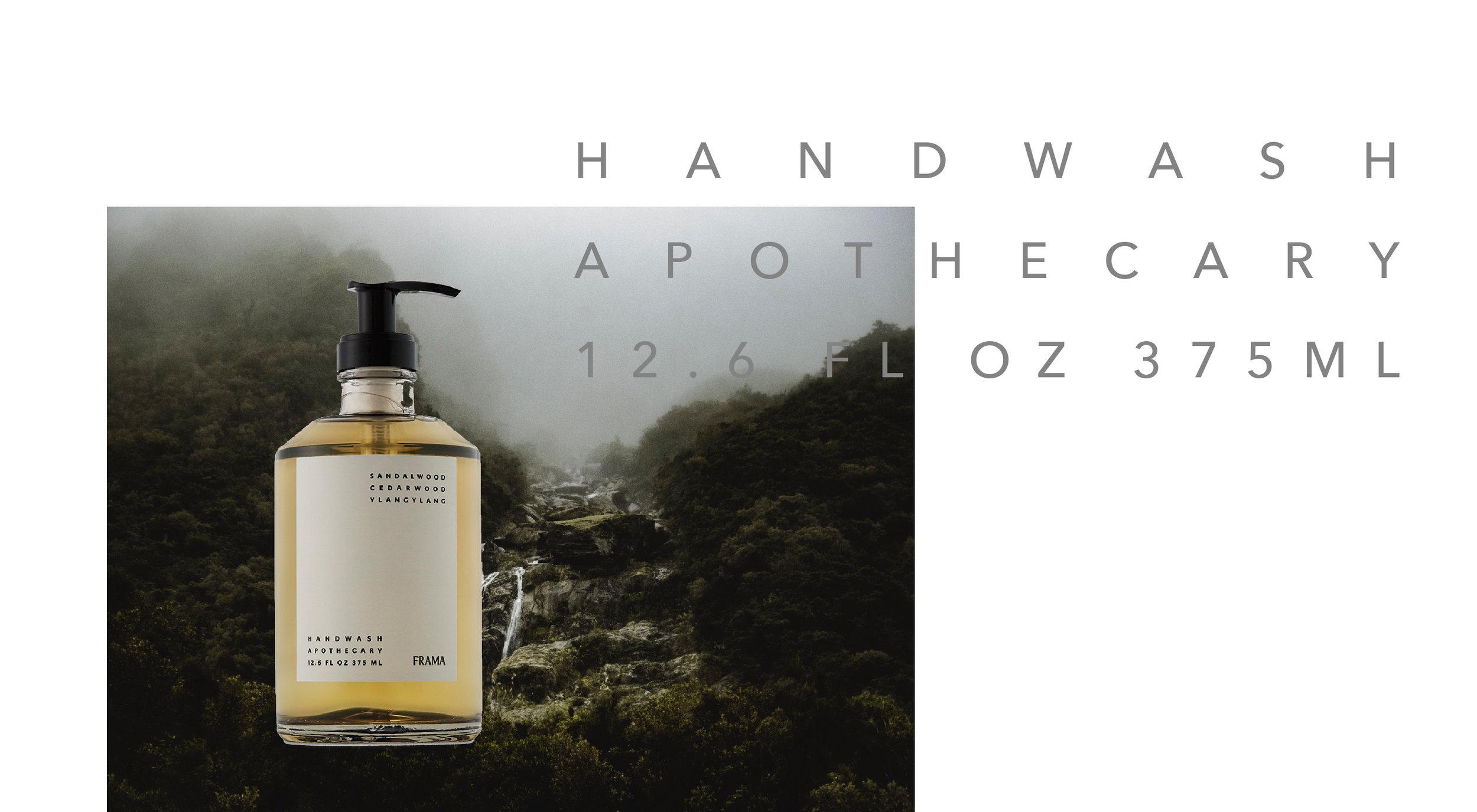 FRAMA 天然香氛洗手乳  /  檀香 - 雪松精油 - 依蘭花油