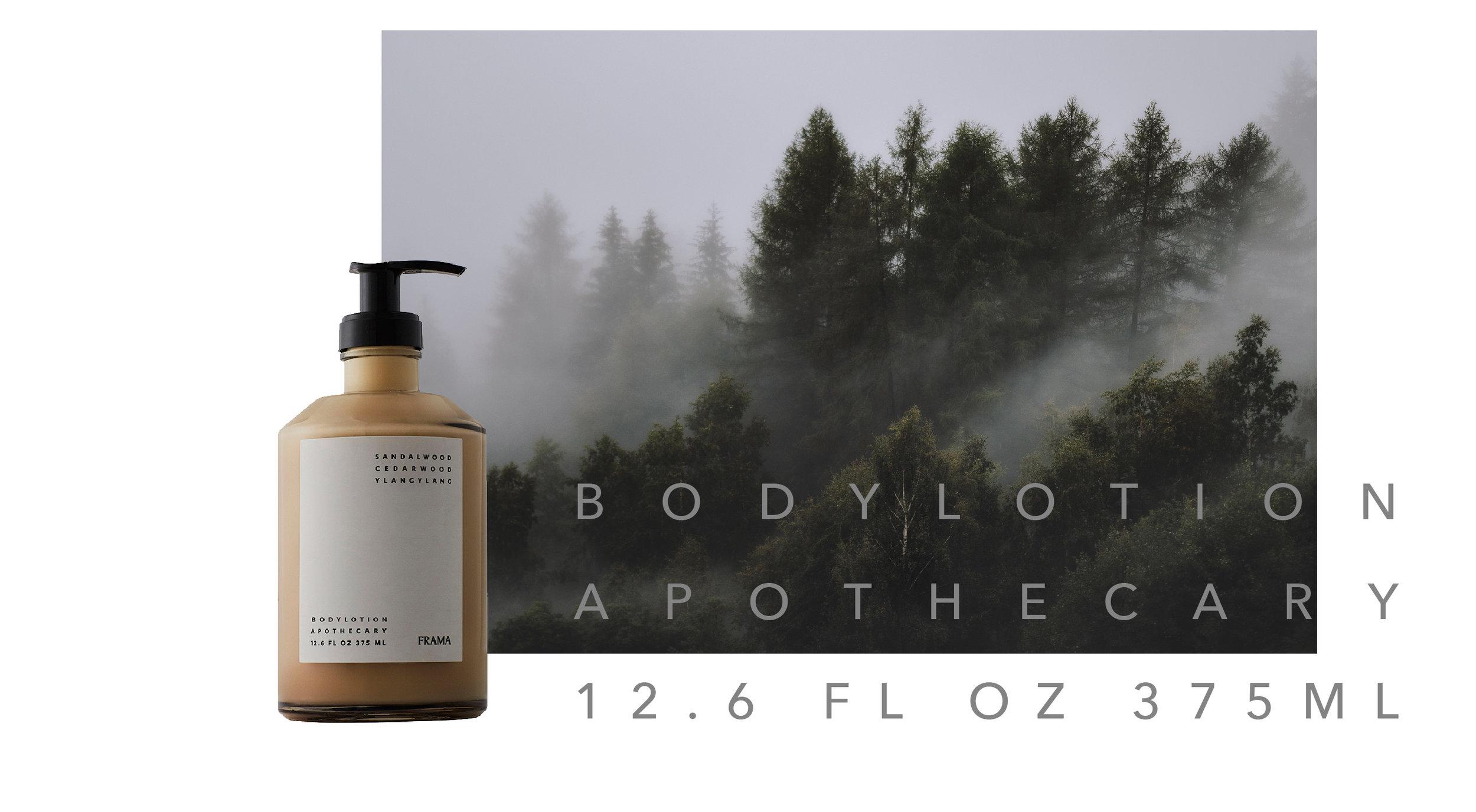 FRAMA 天然保濕身體乳液  /  檀香 - 雪松精油 - 依蘭花油