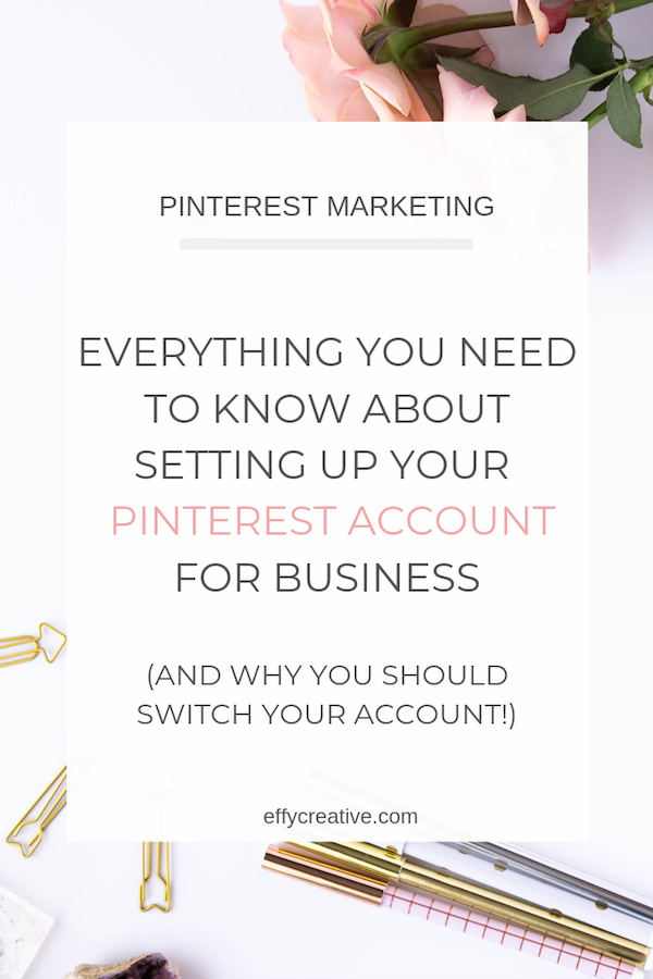 Want to know how to get a Pinterest business account and why it's crucial to your Pinterest success? I'm sharing how to convert your personal account into a business account and the Pinterest marketing benefits that come with it!