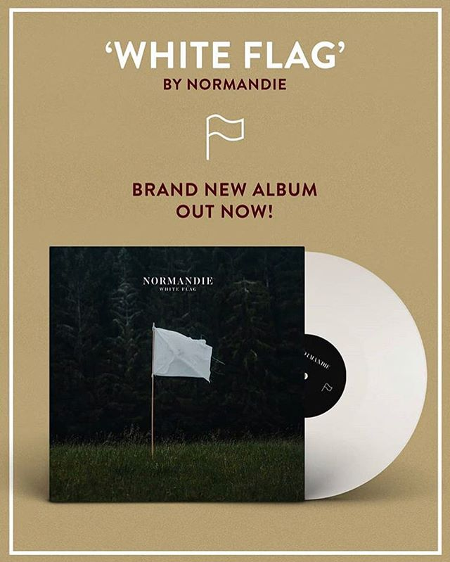 @normandieofficial have released 'White Flag' to the world, we are so proud to have this album on our roster! The lads are playing Scala on Nov 2nd so make sure to head over to their page for more info❤️