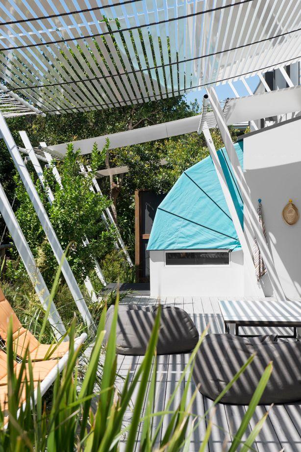 Sleeping Pods in Stradbroke Island House