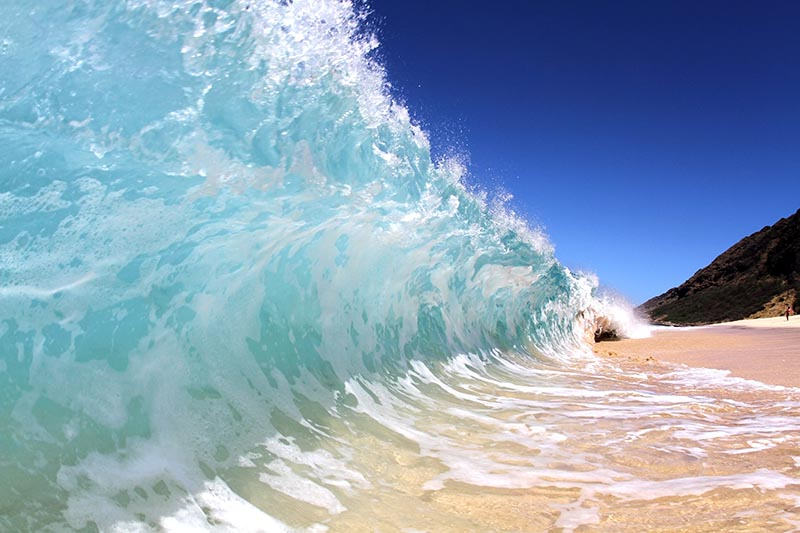 Knowing Wave Types For Ocean Photography -Shorebreak