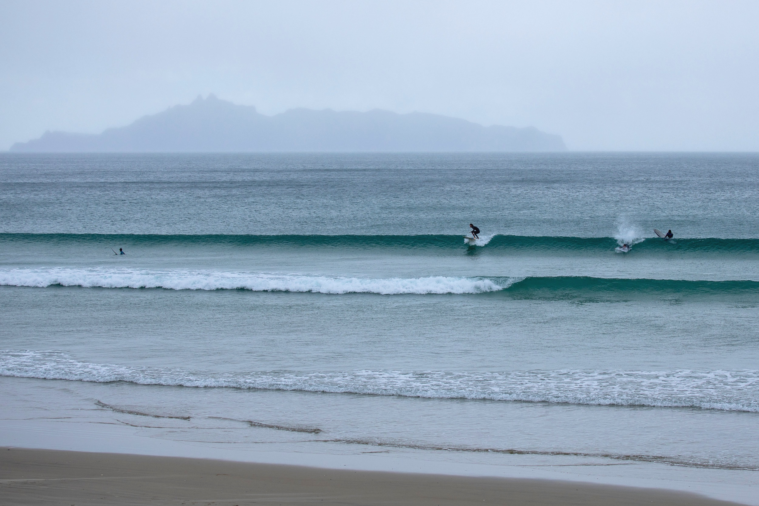 Beach Break in NZ-Image by Kat Nielsen