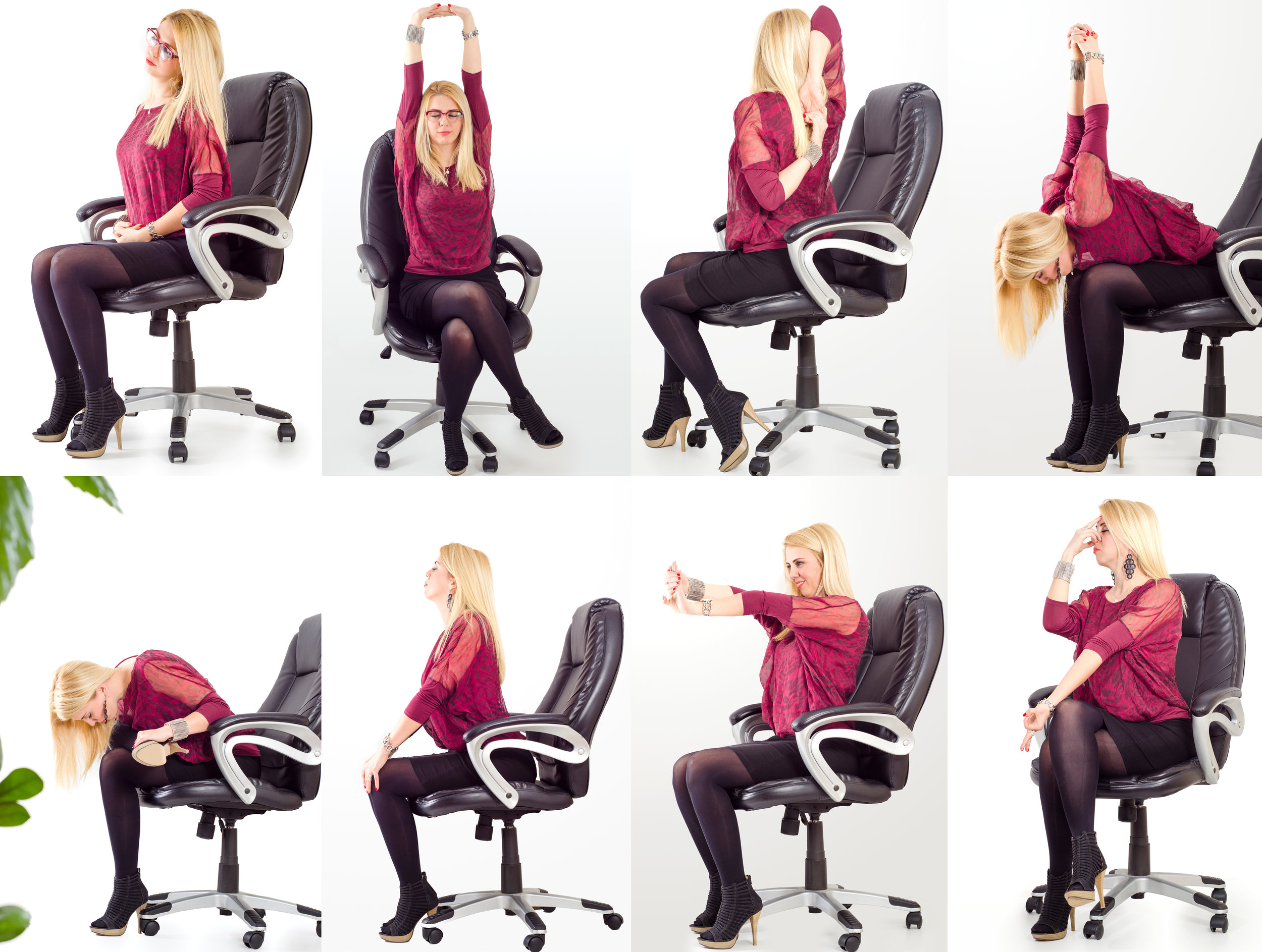 Get Fit Where You Sit - Learn how to maximise your physical health whilst working in an office based environment.