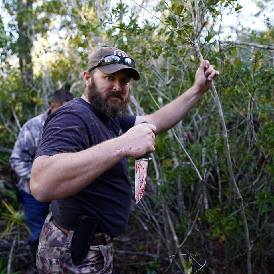 Matt Amos Wild Pig and Alligator Hunt